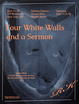 "poster for ""Four White Walls and a Sermon"" Exhibition"