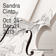 poster for Sandra Cinto Exhibition
