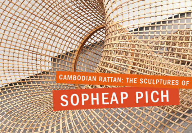 "poster for Sopheap Pich ""Cambodian Rattan"""
