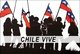 "poster for ""Chile Vive!"" Exhibition"
