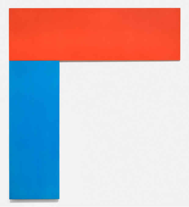 "poster for Ellsworth Kelly ""Chatham Series"""
