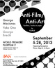 "poster for ""Anti-Film / Anti-Art"" Exhibition"