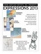 "poster for ""Expressions 2013"" Exhibition"