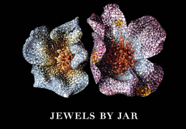 "poster for ""Jewels by JAR"" Exhibition"