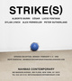 "poster for ""Strike(s)"" Exhibition"