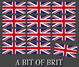 "poster for ""A Bit of Brit"" Exhibition"