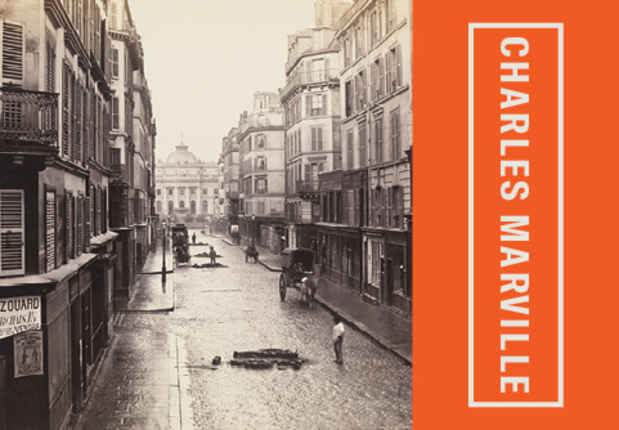 "poster for Charles Marville ""Photographer of Paris"""