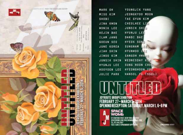 "poster for ""UNTITLED"" Exhibition"