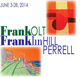 poster for Frank Olt and Franklin Hill Perrell Exhibition