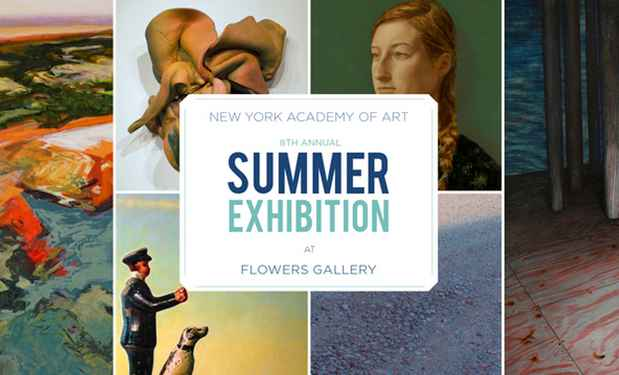 "poster for ""New York Academy of Art's Annual Summer Exhibition"""