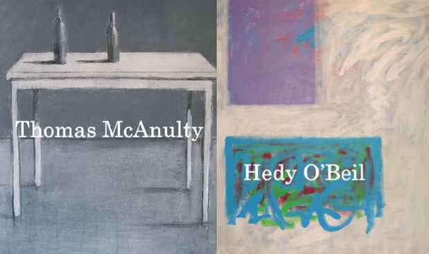 poster for Thomas McAnulty and Hedy O'Beil EXhibition