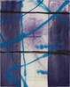 "poster for Julian Schnabel ""Flag Painting"""