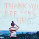 "poster for Alina & Jeff Bliumis ""Thank You Paintings Exchange"""