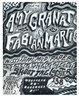 "poster for Amy Granat and Fabian Marti ""Mississippi Mud Papers"""