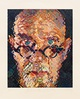 "poster for Chuck Close ""Portraits of Artists"""