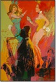"poster for LeRoy Neiman ""40/40"""
