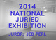 "poster for ""2014 National Juried Exhibition"""