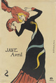 "poster for ""The Paris of Toulouse-Lautrec: Prints and Posters"" Exhibition"
