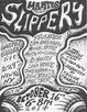 "poster for ""Slippery"" Exhibition"