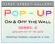 "poster for ""POP UP Show"" Series 2"