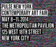"poster for ""Pulse NY Contemporary Art Fair"""
