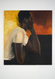 "poster for Lynette Yiadom-Boakye ""The Love Within"""