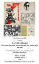 "poster for ""A Living Collage"" Exhibition"