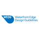 "poster for  Metropolitan Waterfront Alliance's Waterfront Edge Design Guidelines(WEDG)"" Exhibition"