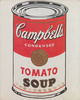 "poster for Andy Warhol ""Campbell's Soup Cans and Other Works, 1953–1967"""