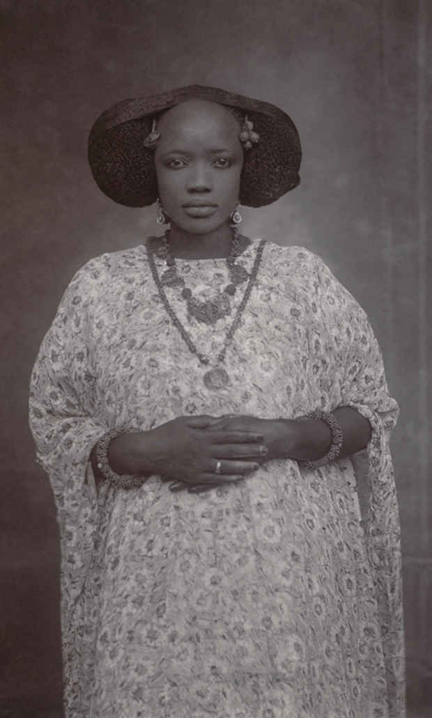 "poster for ""In and Out of the Studio: Photographic Portraits from West Africa"" Exhibition"