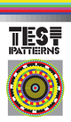 "poster for ""Test Patterns"" Exhibition"