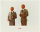 "poster for Gilbert & George ""The Early Years"""