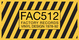 "poster for ""FAC 512"" Exhibition"