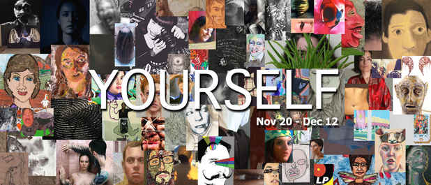 "poster for ""YOURSELF"" Exhibition"