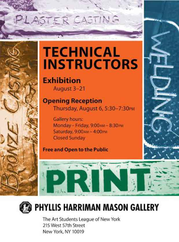 "poster for ""Technical Instructor Show 2015"" Exhibition"