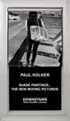 "poster for Paul Kolker ""Shade Paintings…The New Moving Pictures!"""