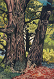 "poster for Charles Burchfield ""The Nature of Seeing"""