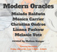 "poster for ""Modern Oracles"" Exhibition"