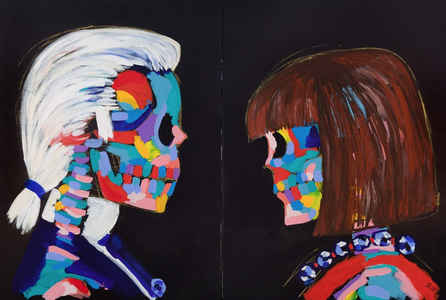 "poster for ""The Bradley Theodore Experience"" Exhibition"
