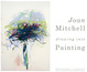 "poster for Joan Mitchell ""Drawing into Painting"""