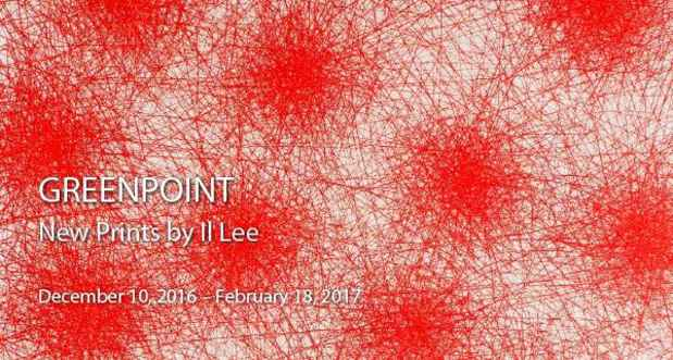 "poster for Il Lee ""GREENPOINT"""