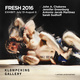 "poster for ""FRESH 2016"" Exhibition"
