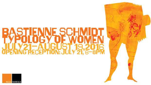 "poster for Bastienne Schmidt ""Typology of Women"""