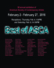 "poster for ""Best of ASCA"" Exhibition"