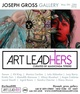 "poster for ""Art LeadHers"" Exhibition"