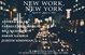 "poster for ""New Work New York"" Exhibition"