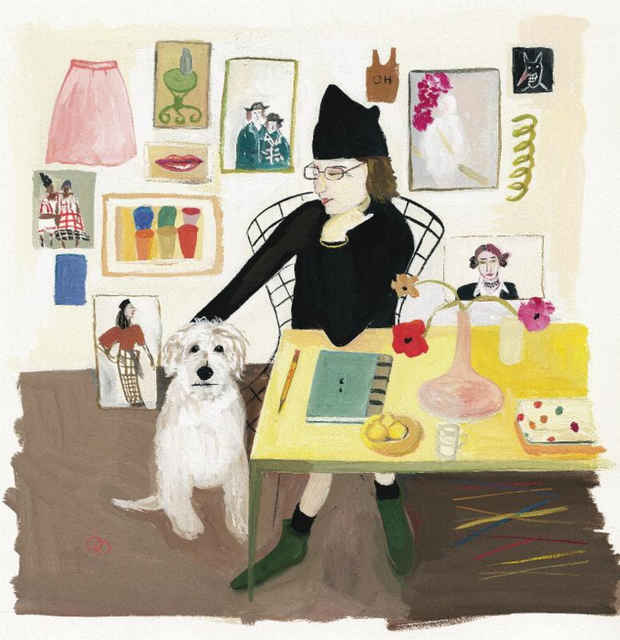 "poster for Maira Kalman ""The Elements of Style"""