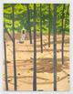"poster for Alex Katz ""Cut Outs: 1950s-1980s"""