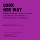 "poster for ""Look Her Way"" Exhibition"