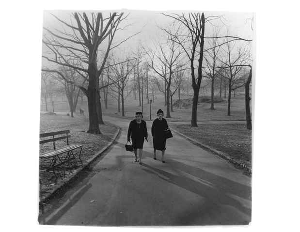 "poster for Diane Arbus ""In the Park"""